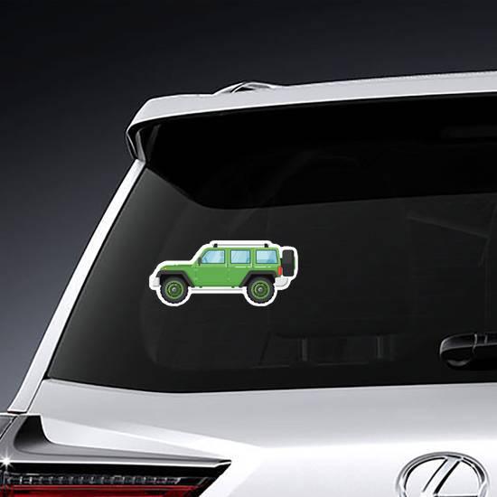 Extreme Travel Vehicle Sticker