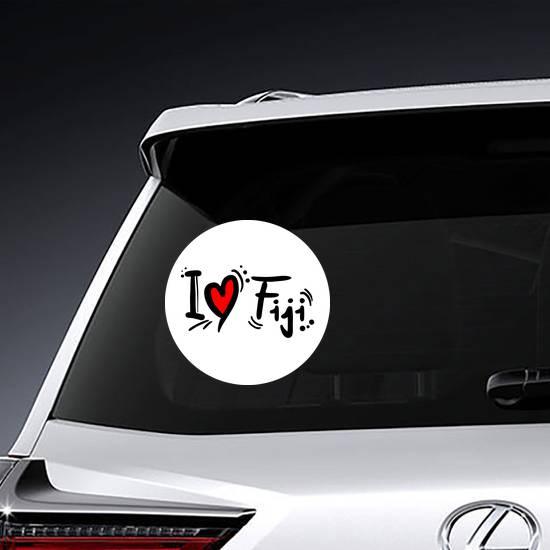 Fiji Love Sticker example