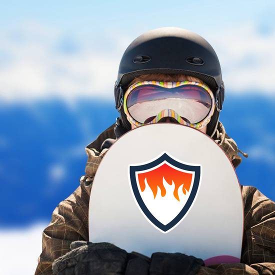Fire Shield Sticker