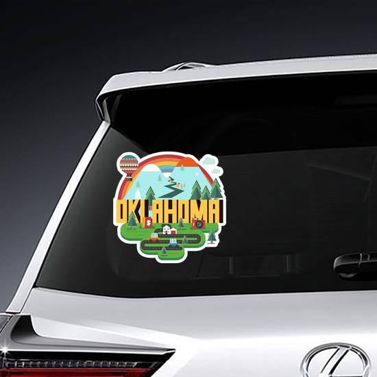 Fun Oklahoma State Sticker example