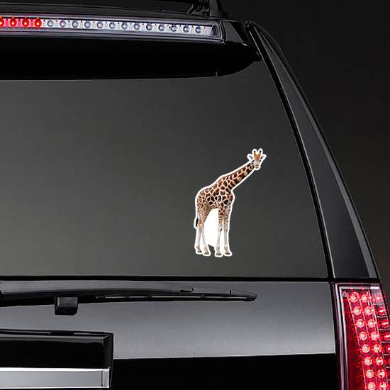 Giraffe Isolated Sticker