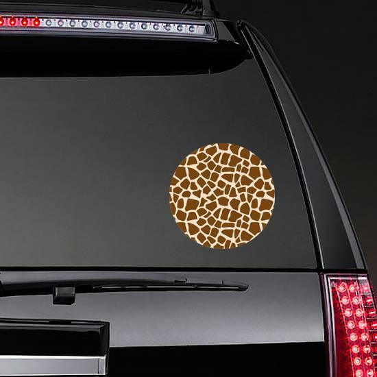 Giraffe Seamless Pattern Sticker