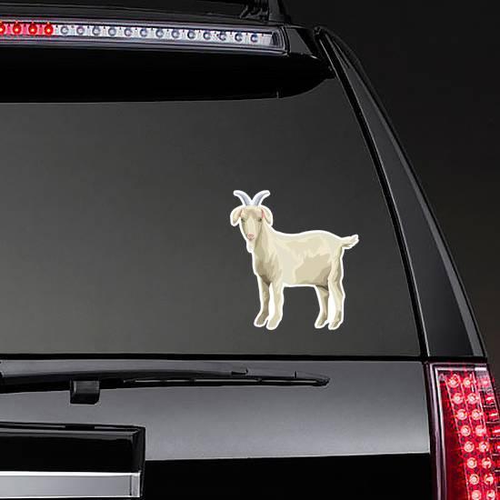 Goat Icon Cartoon Sticker