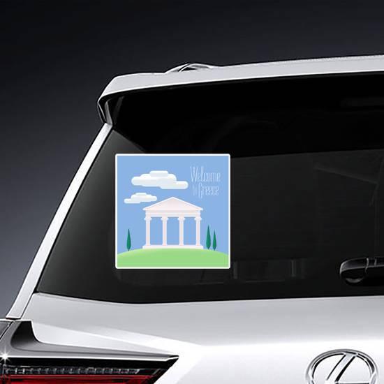 Greek Acropolis Sticker example