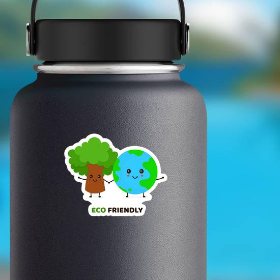 Happy Eco Friendly Sticker