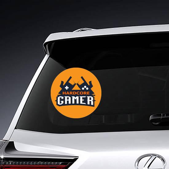 Hardcore Gamer Sticker