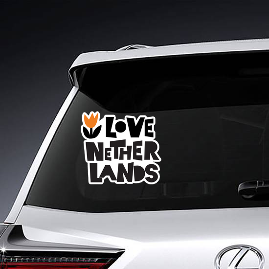 I Love Netherlands Sticker