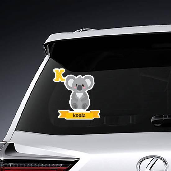 K is for Koala Sticker
