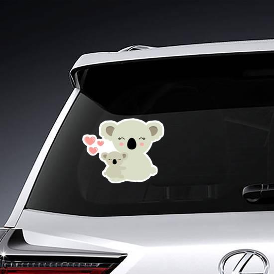 Koala Bear Mama and Baby Sticker