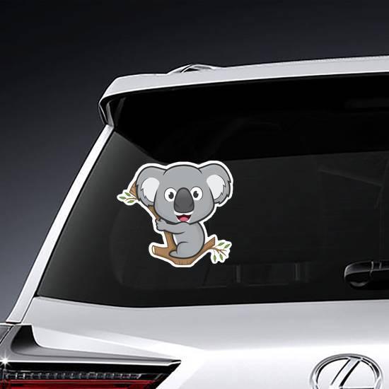 Koala On A Tree Sticker