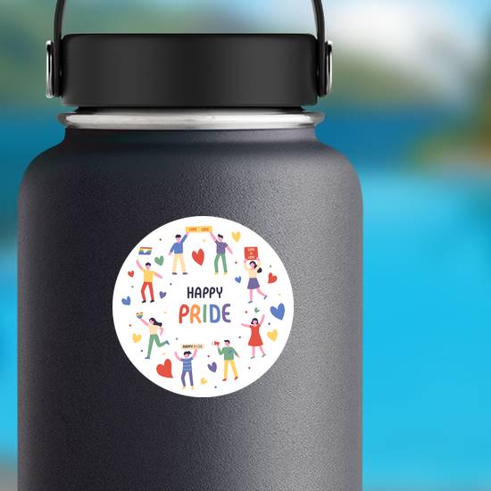 Lgbt Rainbow Pride Festival Sticker