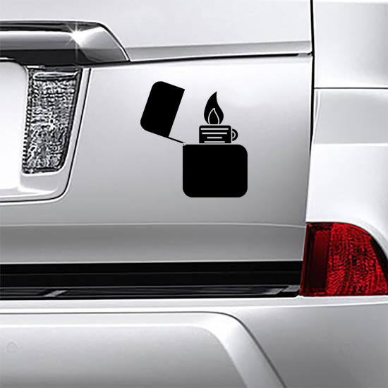 Lighter Icon Sticker
