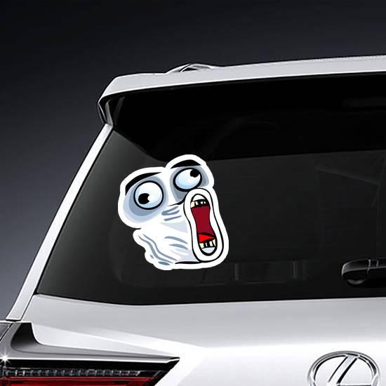 LOL Trollface Meme Sticker example