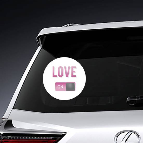 Love On Meme Sticker example