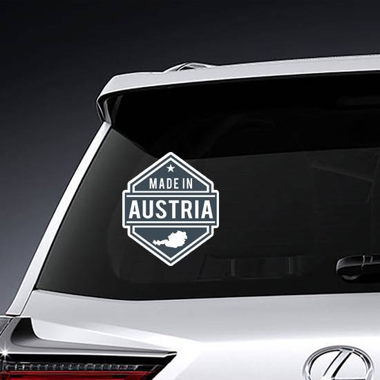 Made In Austria Sticker example