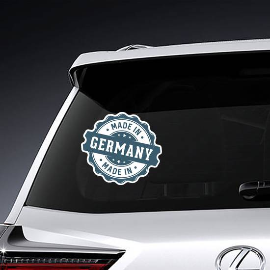 Made In Germany Seal Sticker example