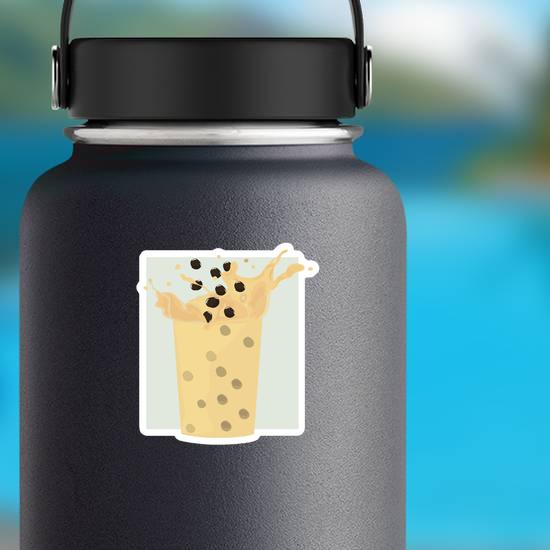 Milk Splash Boba Sticker