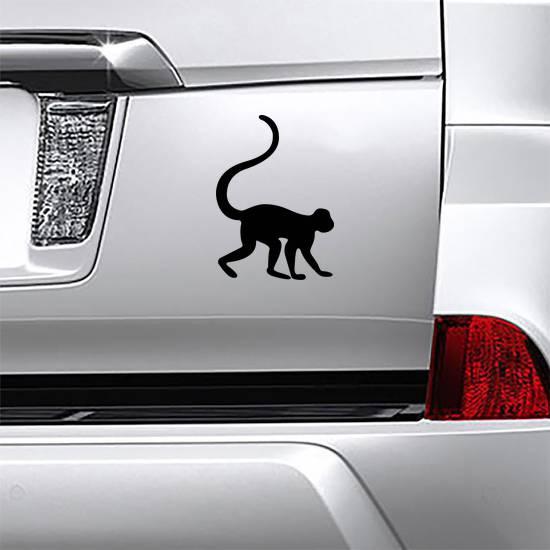 Monkey Walking Sticker
