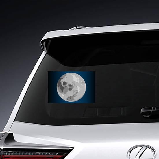 Mystical Full Moon Sticker example