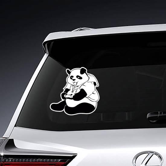 Panda Gamer Sticker