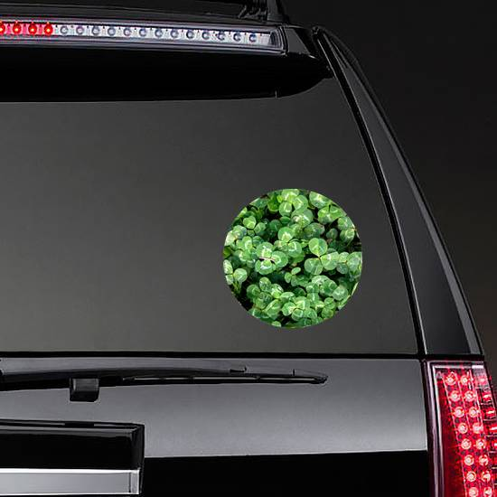 Photo Of Nature Plant Green Clover Sticker