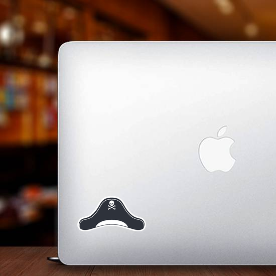 Pirate Hat Icon Sticker