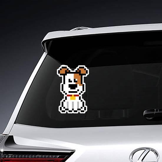 Pixel Art Dog Sticker