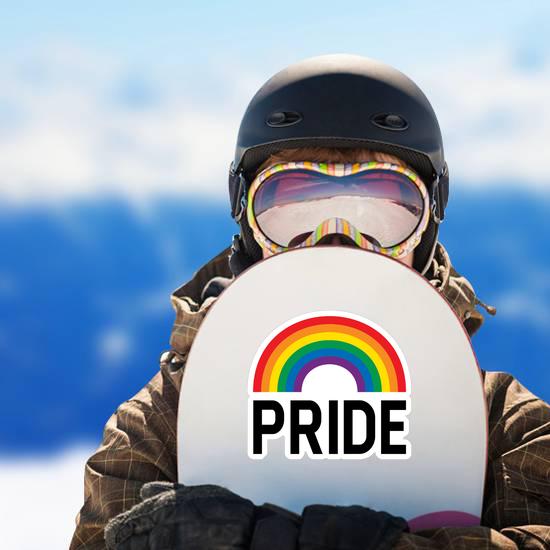 Pride Month Rainbow Celebration Sticker