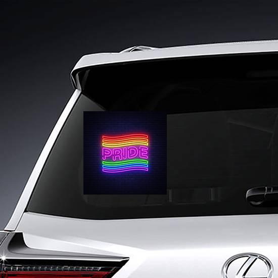 Pride Neon Text Sticker