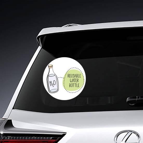 Reusable Water Bottles Sticker example