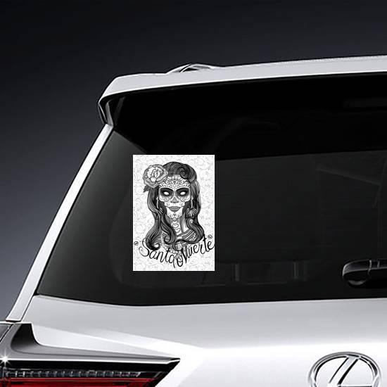 Santa Muerte Sticker example