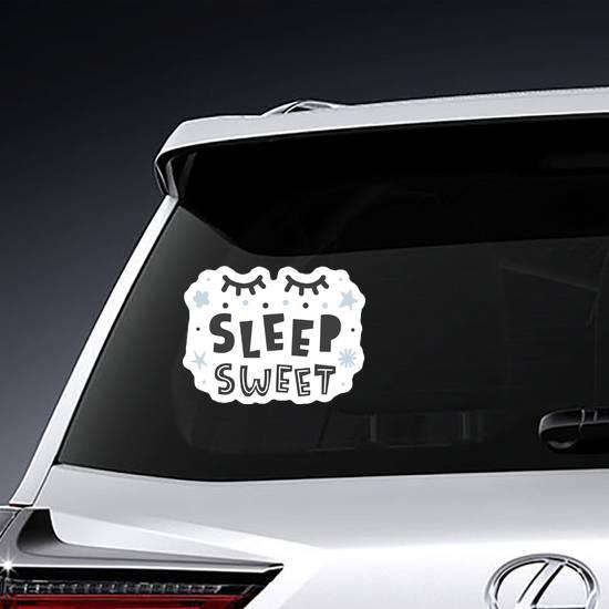 Sleep Sweet Baby Sticker example