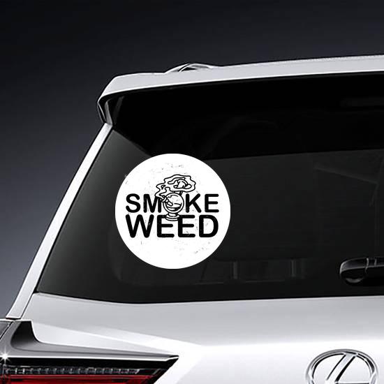 Smoke Weed Bong Sticker