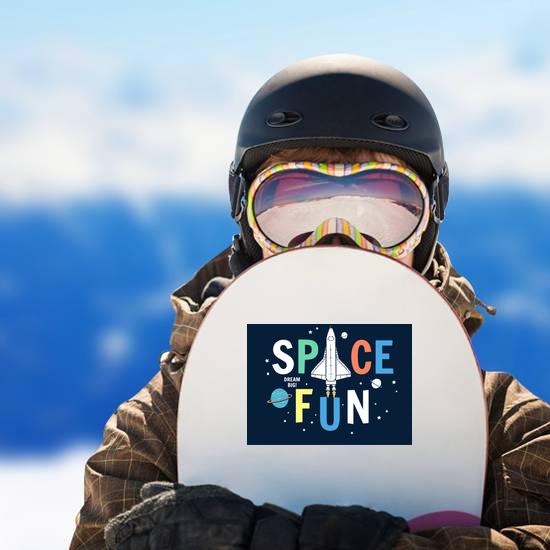 Space Fun Sticker