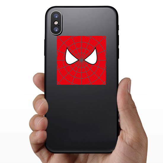 Superhero Face Sticker