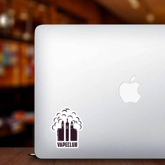 Vape Club Sticker