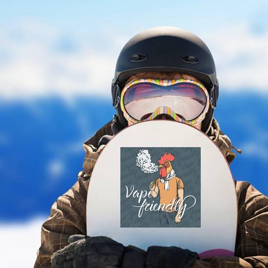 Vape Friendly Chicken Sticker