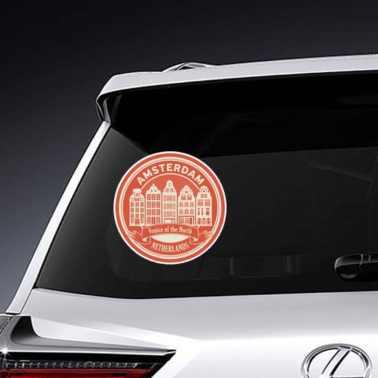 Venice Of The North Sticker example