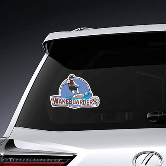 Wakeboarders Sticker