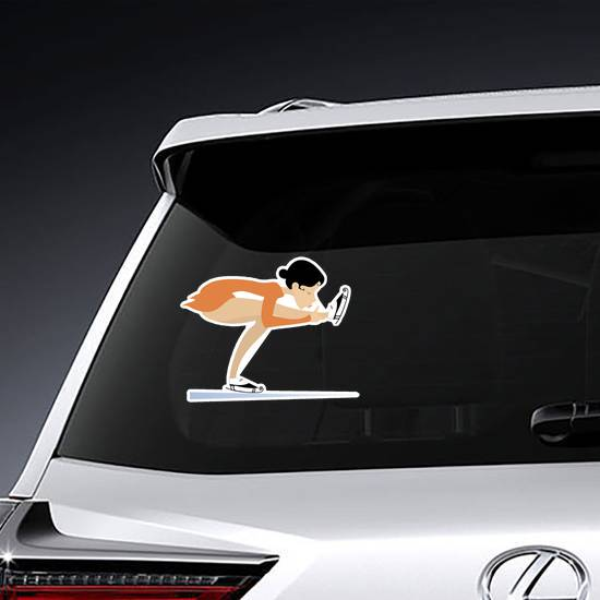 Young Figure Skater Sticker