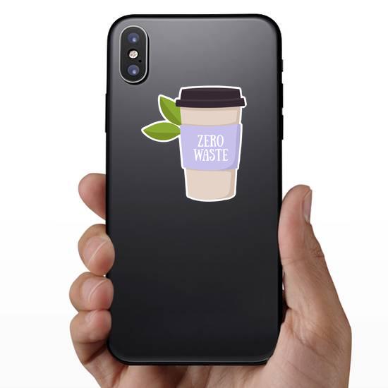Zero Waste Coffee Cup Sticker