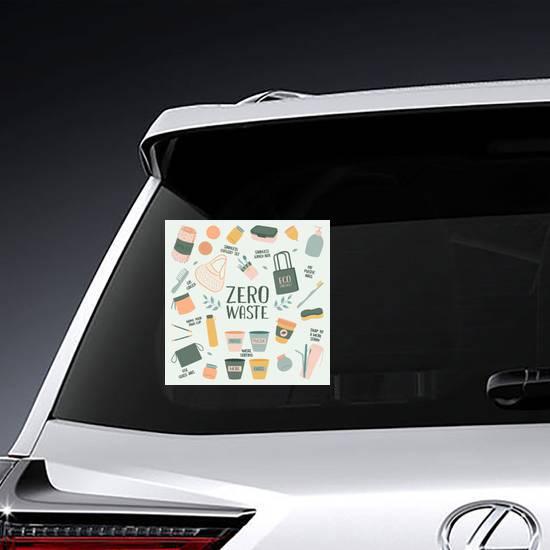 Zero Waste Elements Sticker example