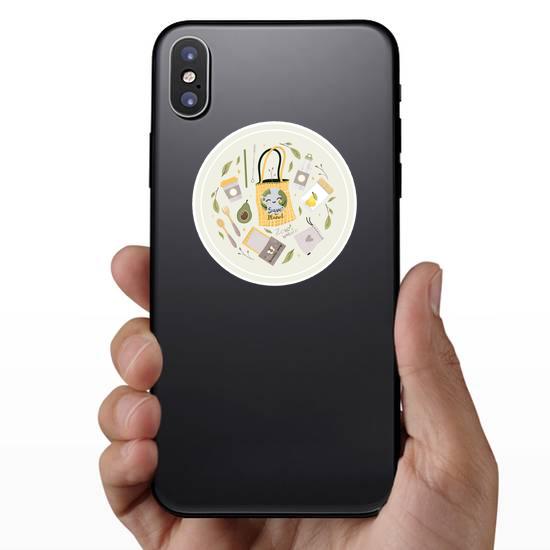 Zero Waste Reusable Products Sticker