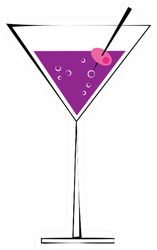 Fun Martini Sticker