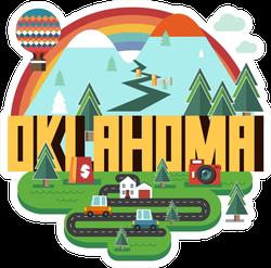 Fun Oklahoma State Sticker
