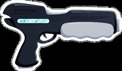 Futuristic Gun Sticker