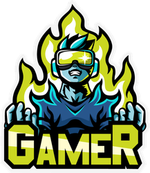 Gamer Sticker