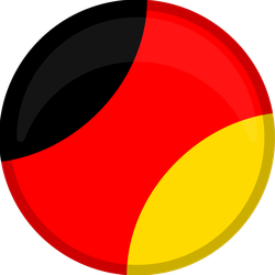 Germany Campaign Button Circle Sticker