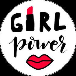 Girl Power Lipstick Lip Sticker