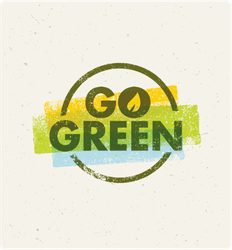 Go Green With Watercolors